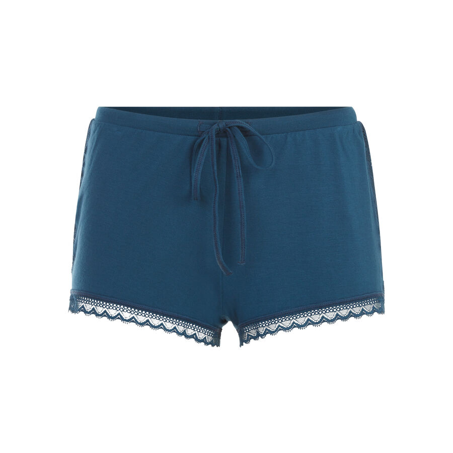 Short azul pavo real vitamiz;