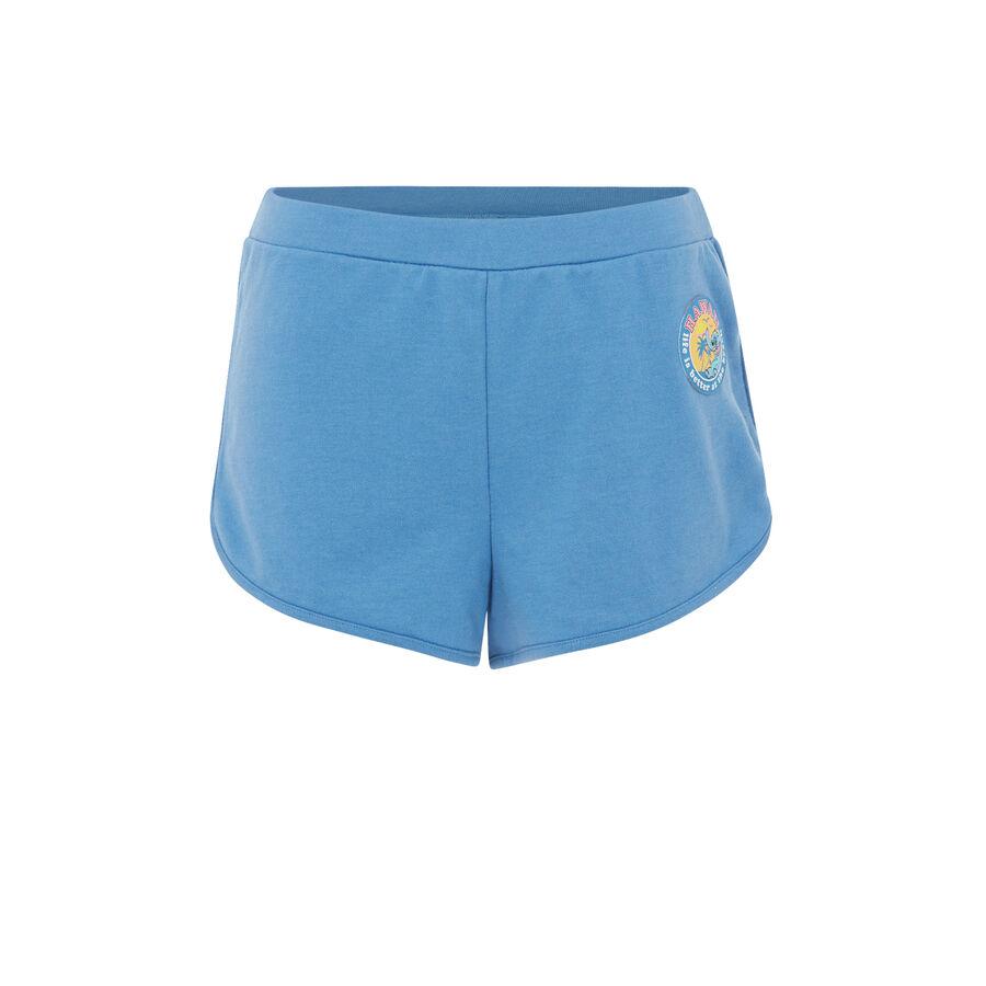 Short azul alohastiz. ;