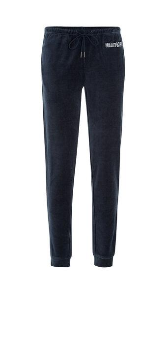 Pantalón azul marino englichiantiz blue.
