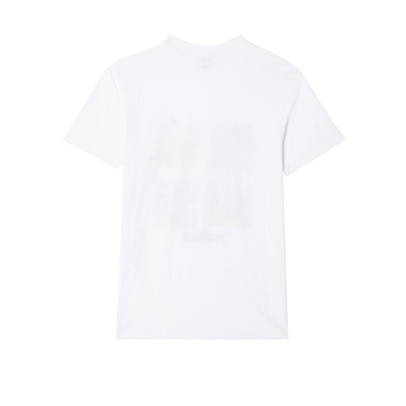 camiseta de Pokémon - blanca;