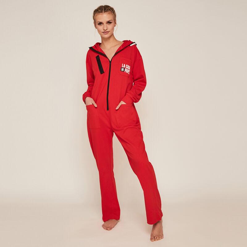Mono pantalón de La Casa de Papel - rojo;