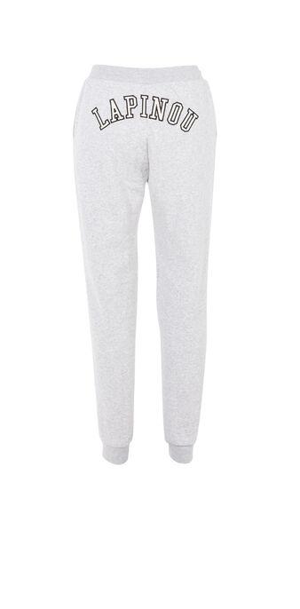 Pantalon blanc lapinouxiz white.