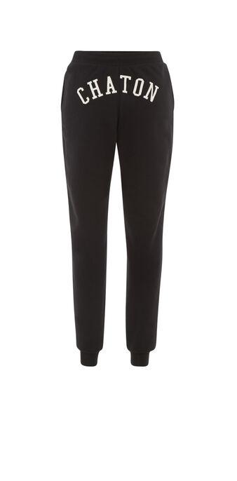 Pantalon noir chatonixiz black.