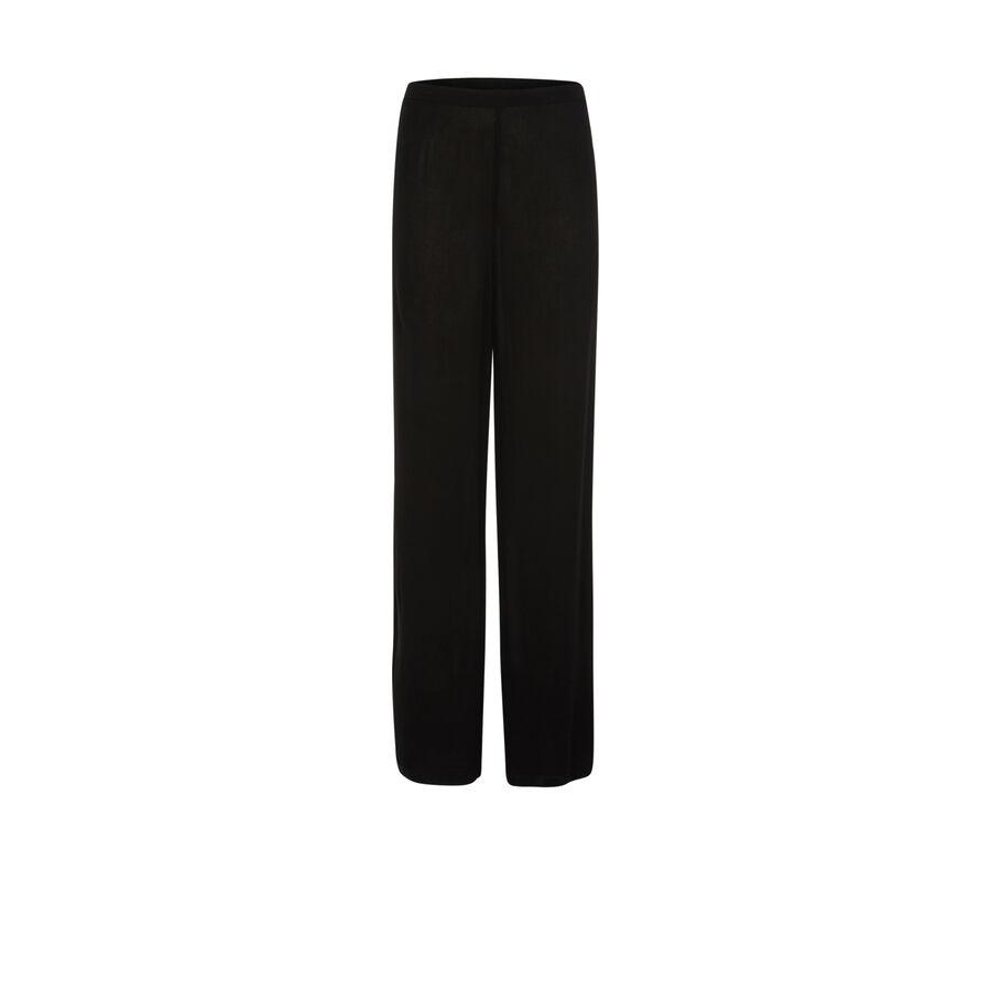 Pantalón negro jelaniz;${refinementColor}