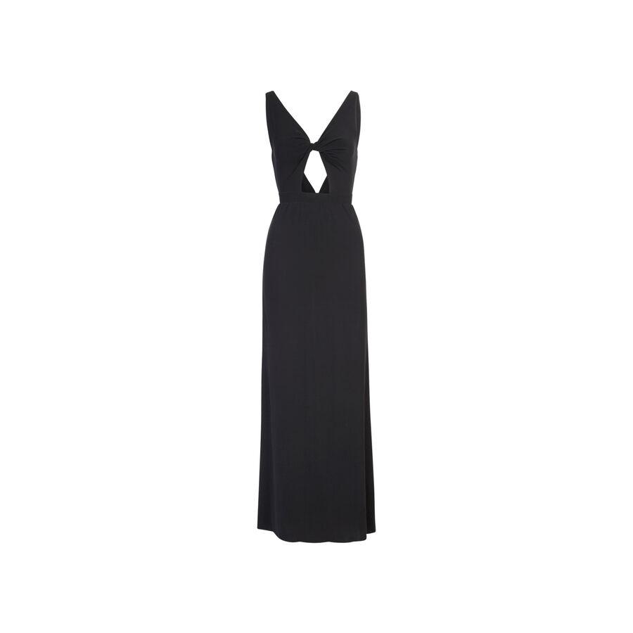 Vestido negro reveliz;
