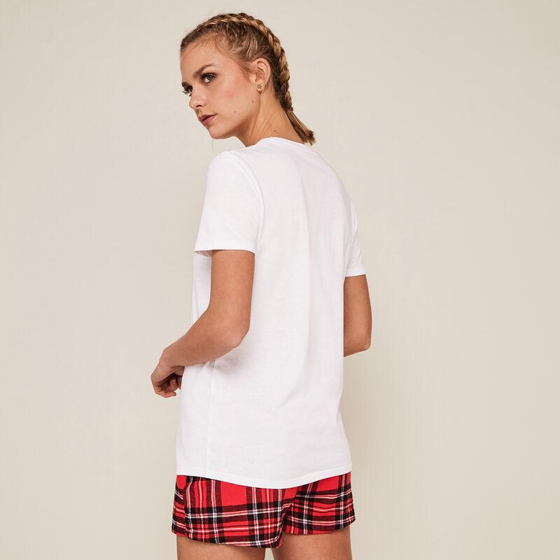 Shorts a cuadros - rojos;
