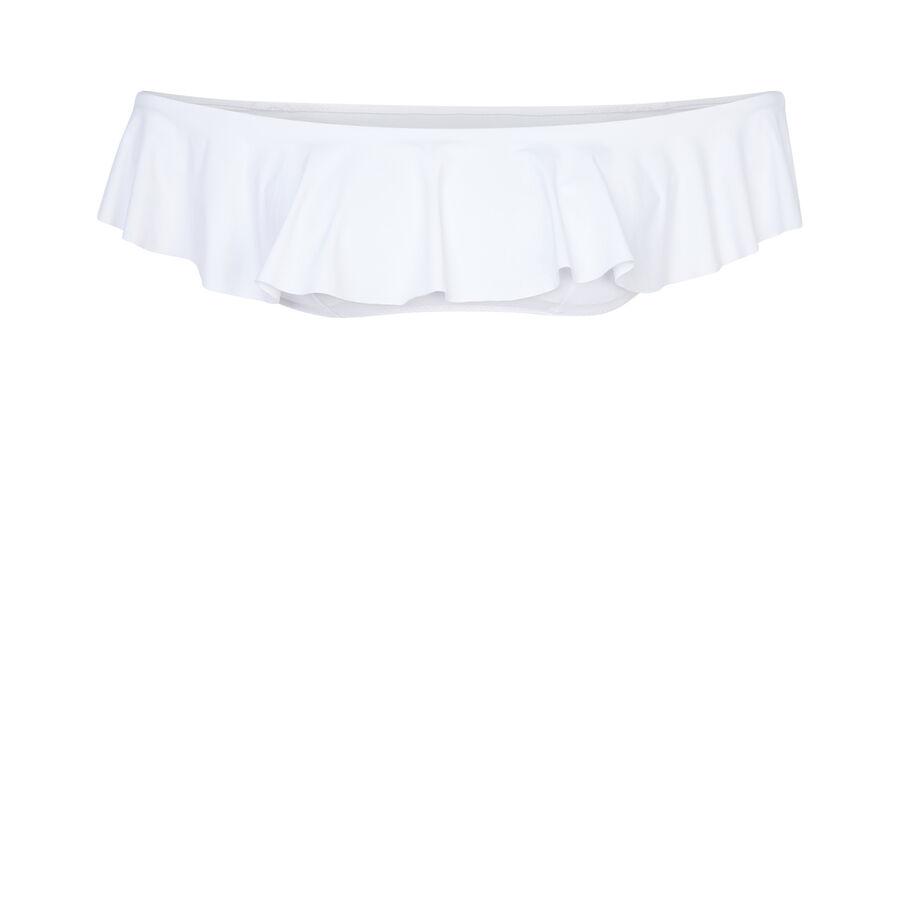Haut de maillot de bain blanc citroniz;${refinementColor}