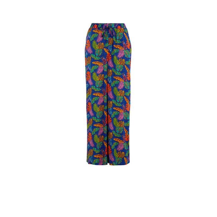 Pantalón azul afrodiz;