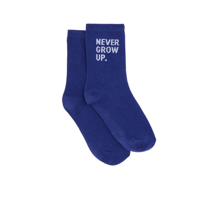 Calcetines azules nevergrowiz;