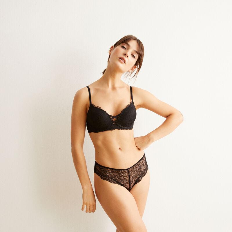 Braguita culotte negra Everydayiz;