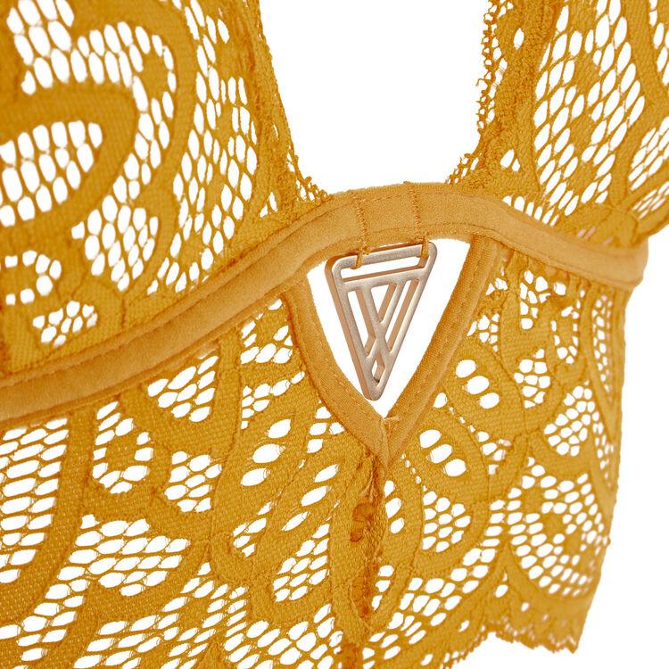 Sujetador triangular gold precieusiz;