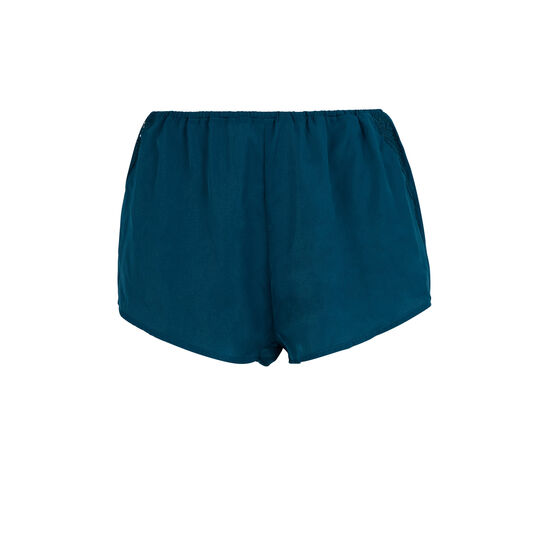 Short azul finiz;