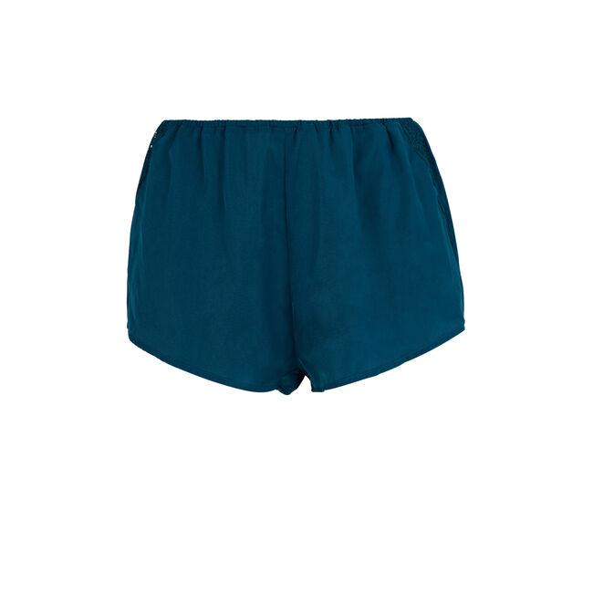 Short azul finiz;