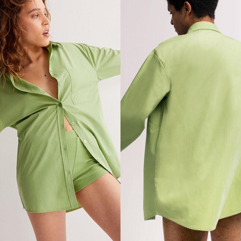 Camisa unisex - verde;