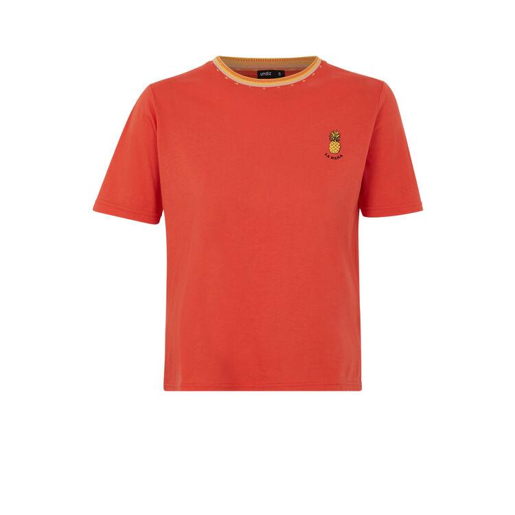 Top anaranjado loveiz;
