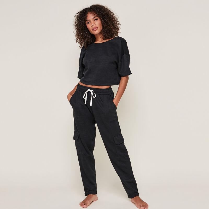 Pantalón liso de punto stitchjoggiz;