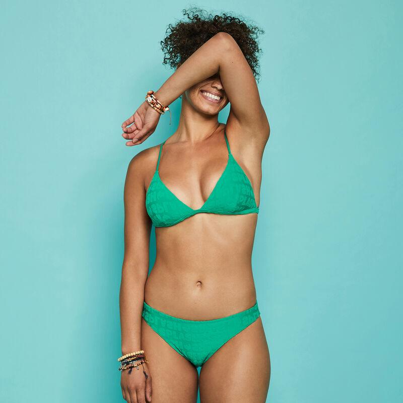 Braguita de bikini verde esmeralda epongiz splashiz;