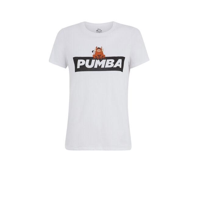 Camiseta blanca pumiz;