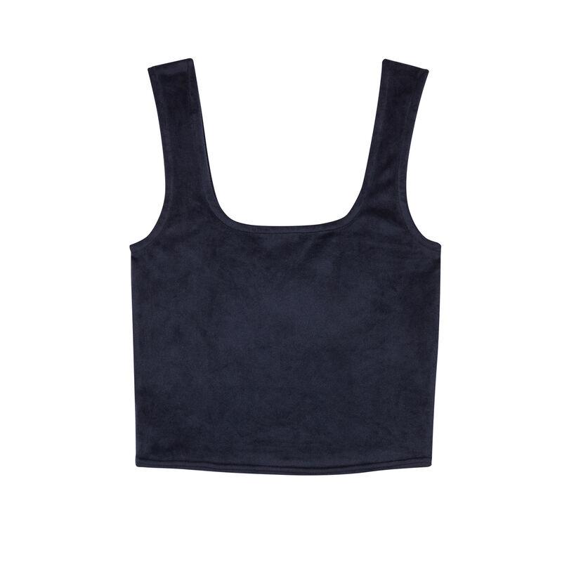 sujetador de terciopelo - azul;