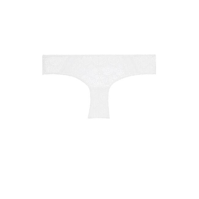 Braguita brasileña blanca buttonizlaciz;