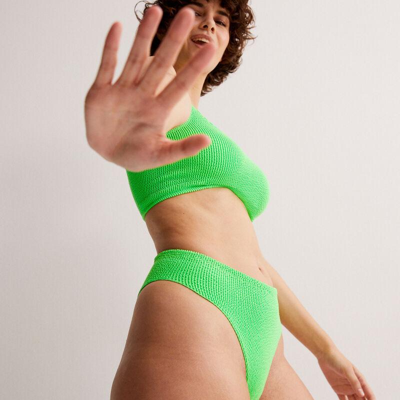 Parte de abajo de bikini braguita - verde;