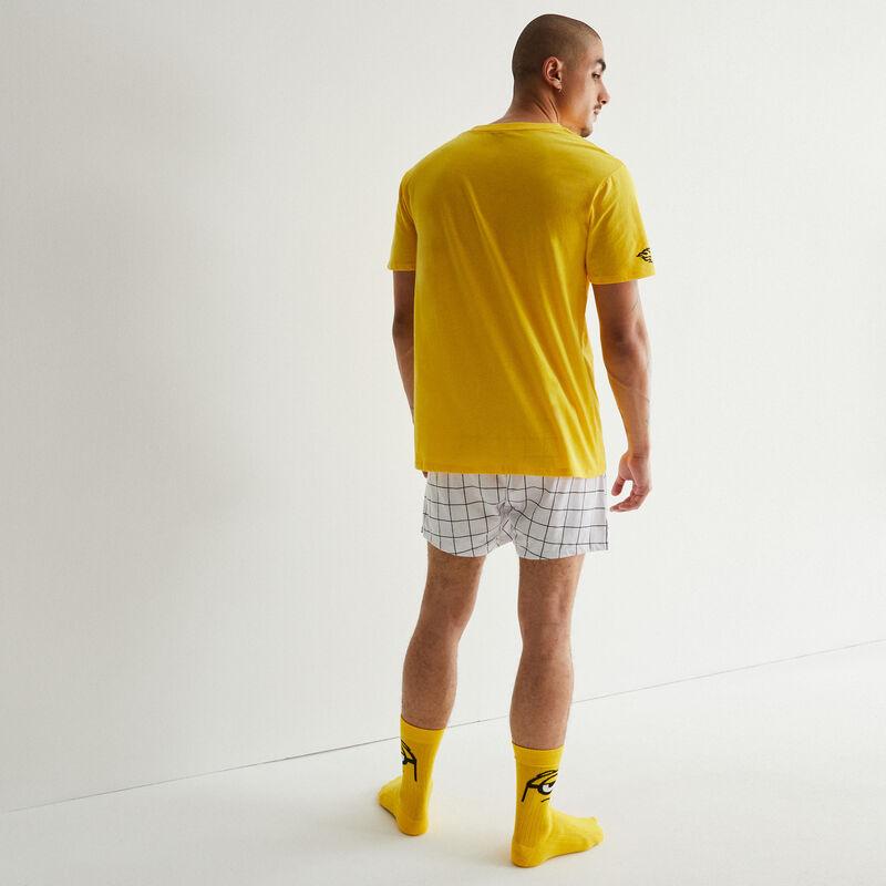 calzoncillos con estampado Los Minions - blancos;