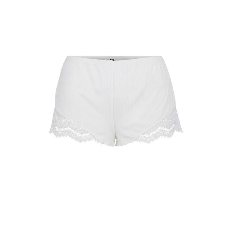 Short blanco cupiz;