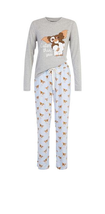 Conjunto de pijama gris claro spaingrimliz grey.