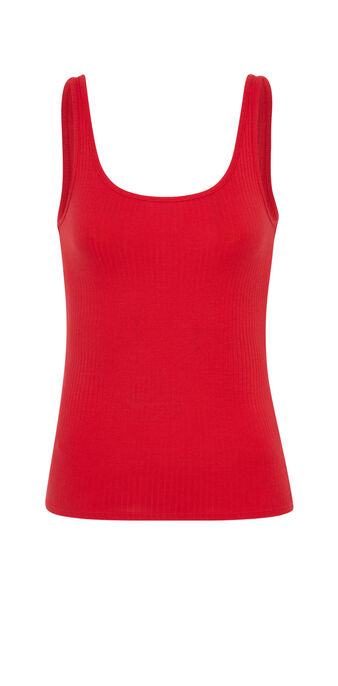Top rojo debidiz red.