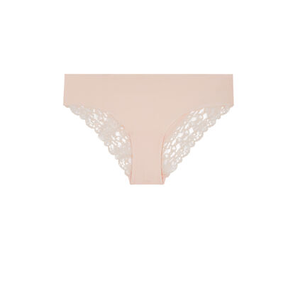 Braguita culotte rosa palo shomiz pink.