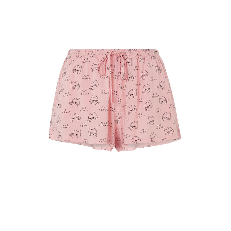 Shorts estampados con gato sundayiz;