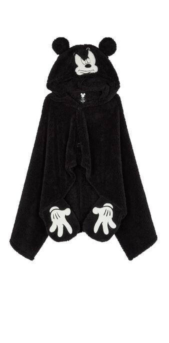 Poncho negro cutemiz black.