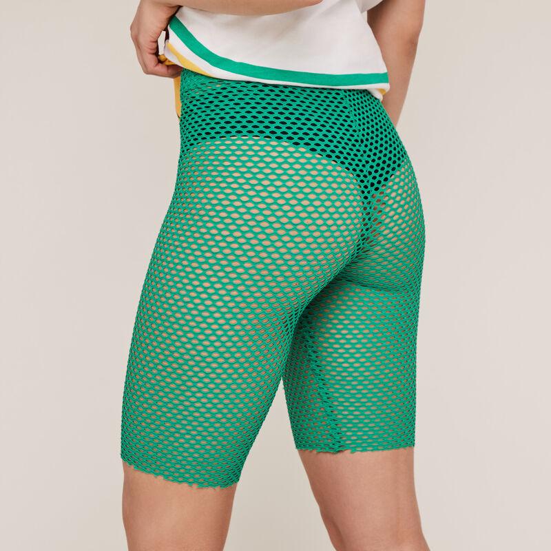 Pantalón ciclista de rejilla - verde ;