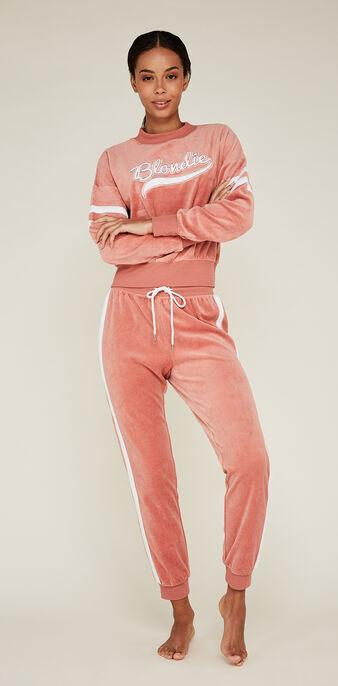 Pantalón rosa anoelliz pink.
