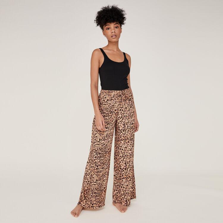 Pantalón de leopardo leopiz;