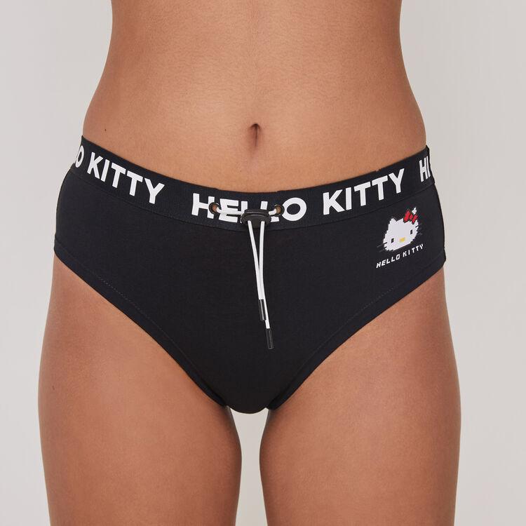 Culotte taille haute imprimé Hello Kitty hellokittiz;