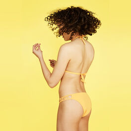 Parte de abajo de bikini amarilla pomcassiz yellow.