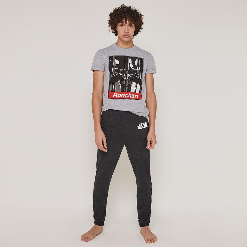 Conjunto de pijama top + pantalón licencia Star Wars darthbossiz;