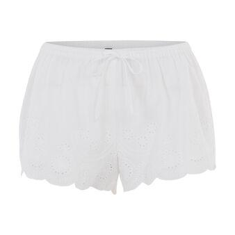 Short blanco batobiz white.
