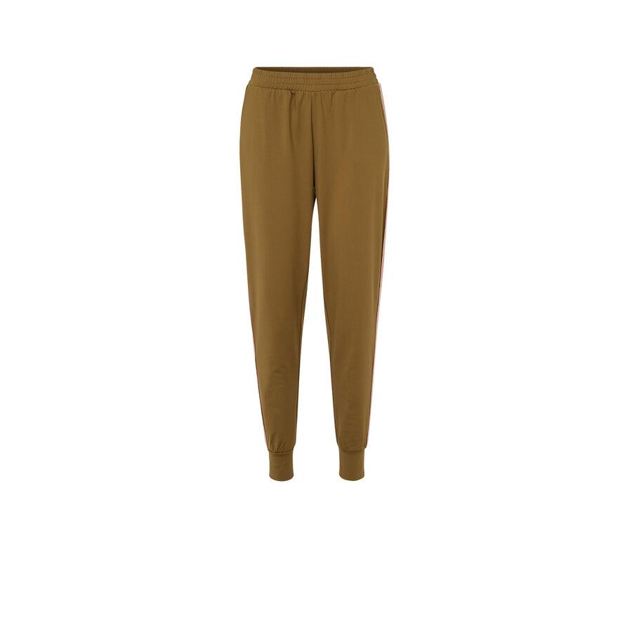 Pantalón deportivo verde oliva bandshiniz;