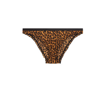 Braguitas con estampado de leopardo panacottiz brown.