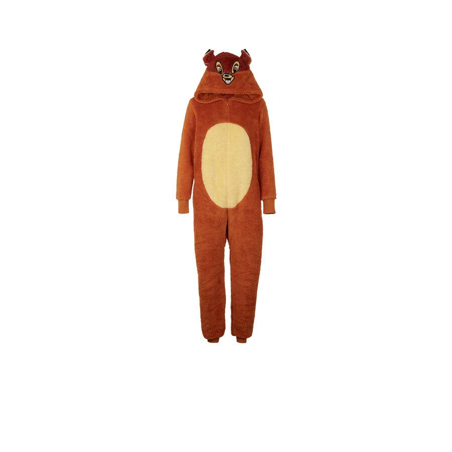 Mono marrón cutebambiz;