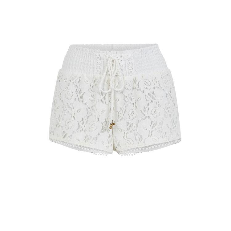 Shorts blancos Shortiyiz;