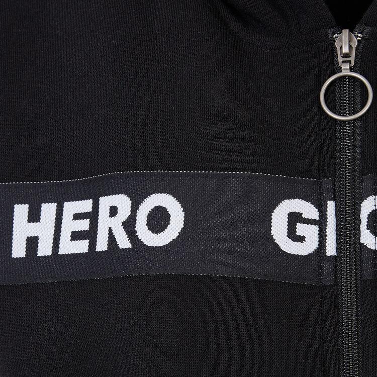 Chaqueta negra herogirliz;