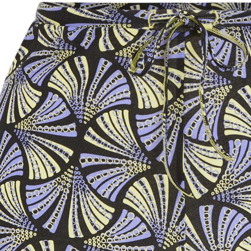 Short con estampado - amarillo;