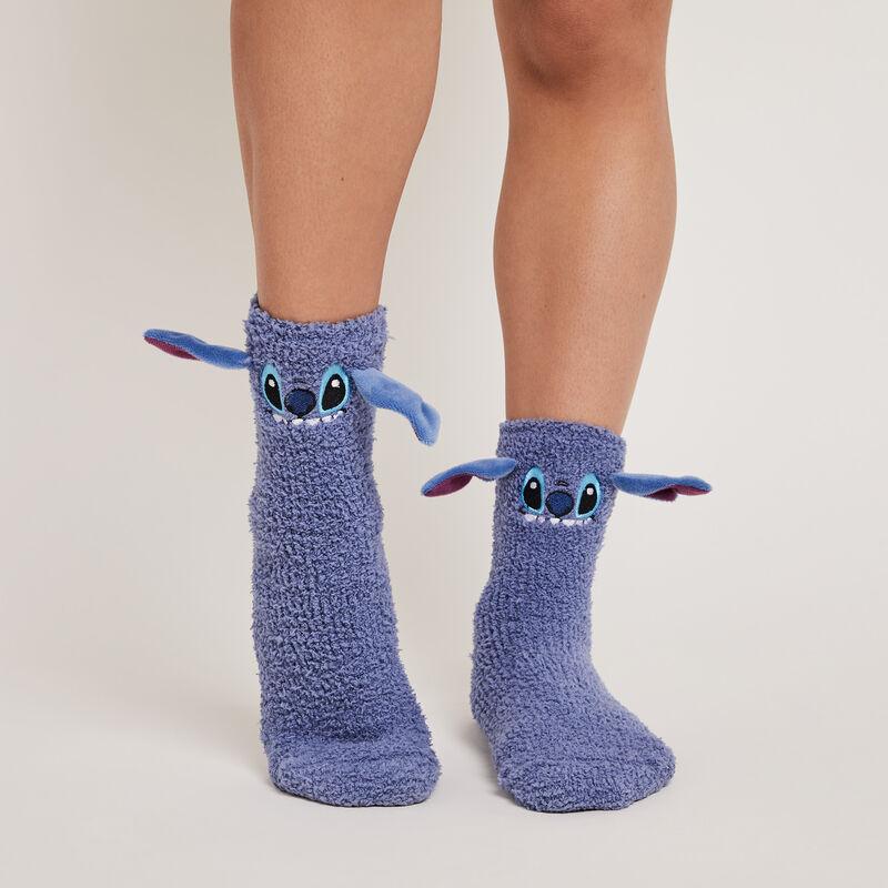 Calcetines de pelo de imitación stitch fufustitchiz;
