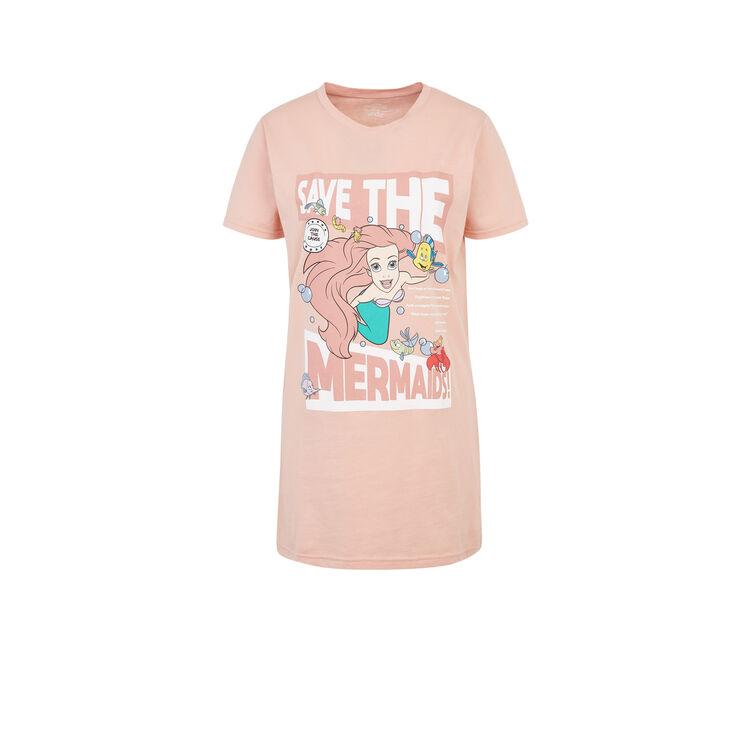 Camiseta larga rosa saveoceiz;