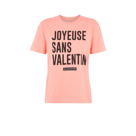 Camiseta rosa sansvaliz;