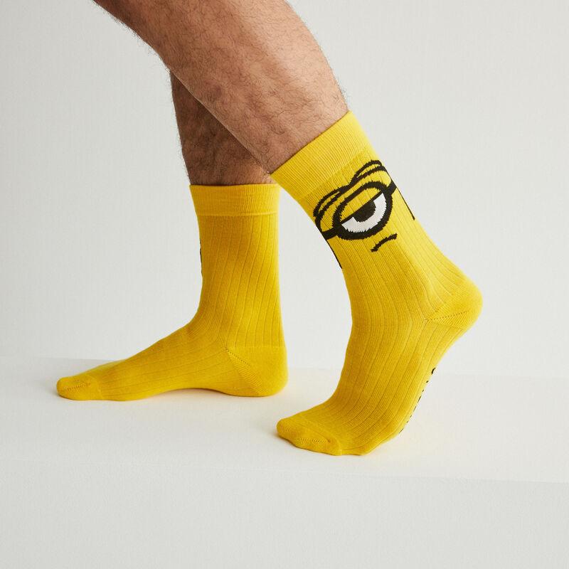 Calcetines Los Minions - amarillo;