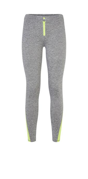 Legging deportivo gris zippiz grey.